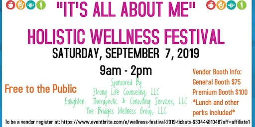 """IT'S ALL ABOUT ME"" Wellness Festival 2019"