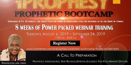 IPROPHESY - Prophetic Boot Camp tickets