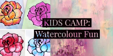 KIDS CAMP: Watercolour Fun tickets