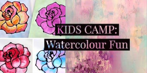 KIDS CAMP: Watercolour Fun