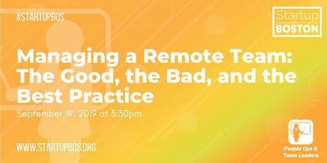 Managing a Remote Team: The Good, the Bad, and the Best Practice tickets