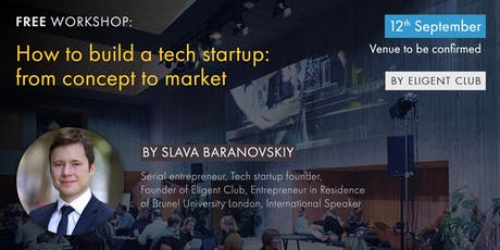 How to Build a Tech Start-up tickets