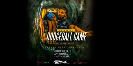 Celebrity Dodgeball Game Night tickets