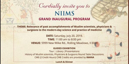 1st Muslim Medical & Science Exhibition
