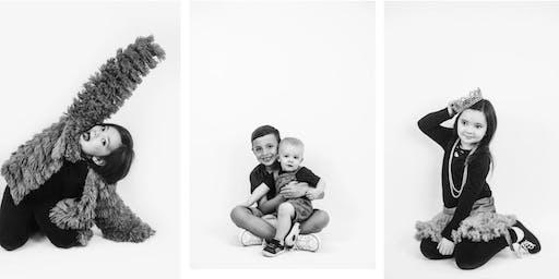July Children's Studio Mini-Session Photo Marathon