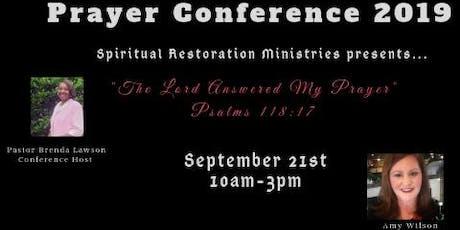 Spiritual Restoration Ministries Prayer Conference  tickets