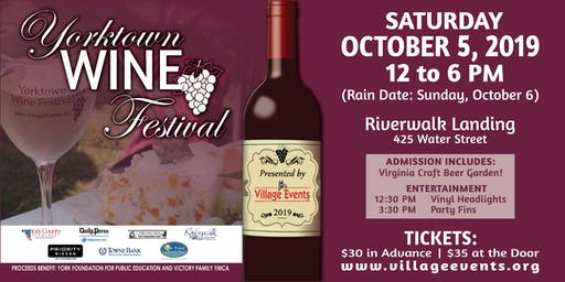 Yorktown Wine Festival 2019