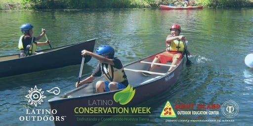 Latino Outdoors at Scout Island