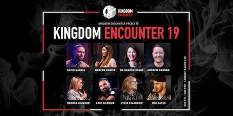 KINGDOM ENCOUNTER '19 | 7TH - 9TH NOV | LONDON tickets