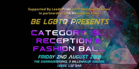 Leeds Pride Fashion Ball  tickets