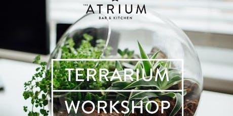 Living Terrarium Workshop tickets