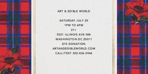 Art & Edible World Saturday