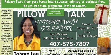 PillowTalk:Intimate Communication With The Father tickets