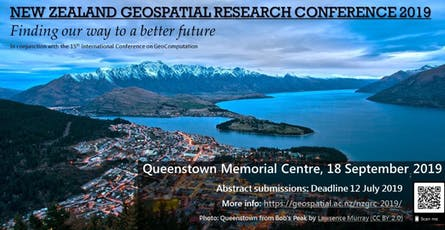 New Zealand Geospatial Research Conference 2019 tickets