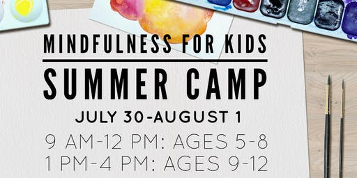 Mindfulness for Kids Summer Camp