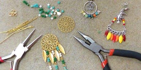 Fabrication de bijoux et porte clés billets