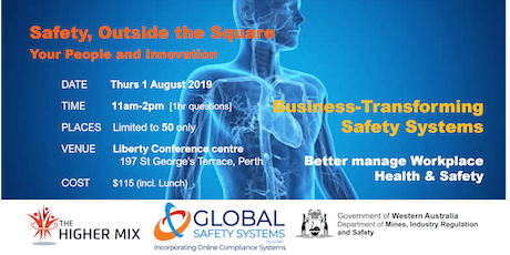 Safety, Outside the Square - Your People and Innovation  tickets