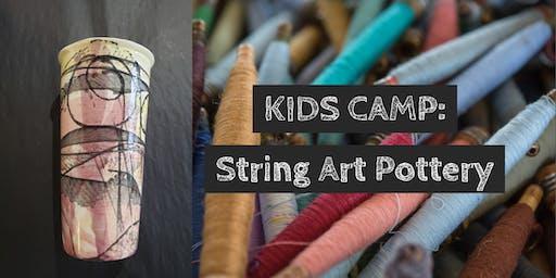 KIDS CAMP: String Art Potter