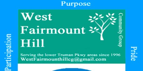 West Fairmount Hill Community Group Summer Cookout/Meet and Greet tickets