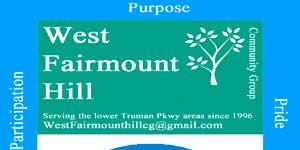 West Fairmount Hill Community Group Summer Cookout/Meet and Greet