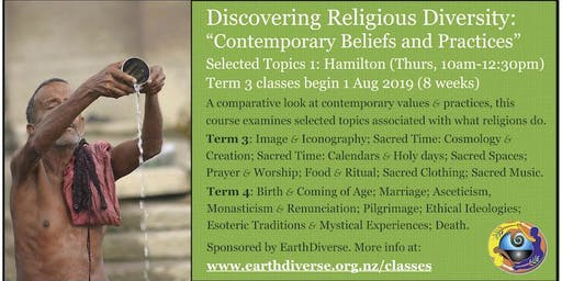 "Hamilton ""Discovering Religious Diversity"" Term 3 class ""Contemporary Practice 1"""