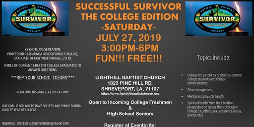 Successful Survivor - The College Edition