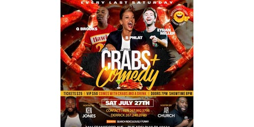 Ridiculously Funny  comedy series Crabs and Comedy