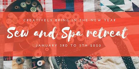Sew and Spa Merseyside retreat tickets