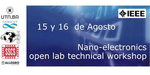 Nano-electronics open lab   technical workshop