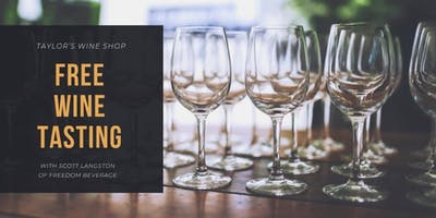 Free Wine Tasting - Freedom Beverage