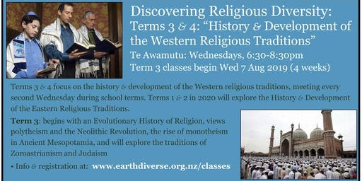 "Te Awamutu ""Discovering Religious Diversity"" class"