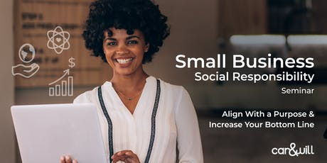 Social Responsibility for the Small Business Owner tickets