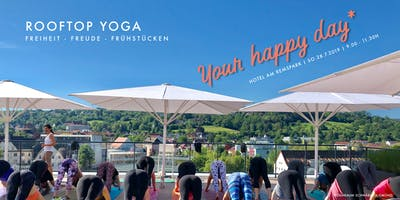 Rooftop Yoga   Your Happy Day*