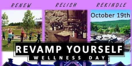 REVAMP Yourself -Yoga, Wine Tasting, Bonfire tickets