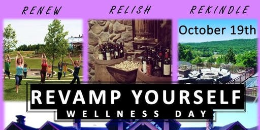 REVAMP Yourself -Yoga, Wine Tasting, Bonfire