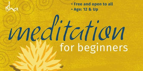 Meditation for Beginners (Free to All - 12+) (Renton Highlands Library) tickets