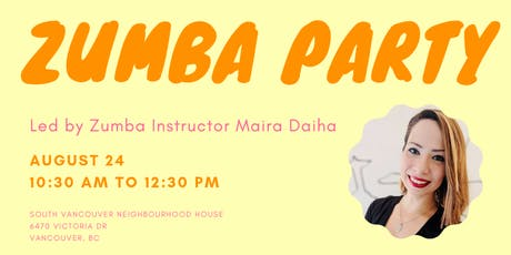 Zumba Party | Friendly Collective tickets