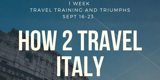ITALY 1 WEEK GETAWAY FROM NYC SEPT 16-23