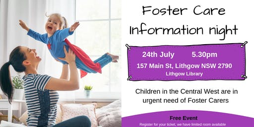Foster Care Information Night Lithgow