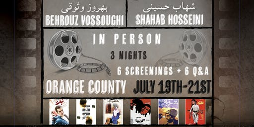 Pol Media Presents: Orange County: Behrouz Vossoughi & Shahab Hosseini Live