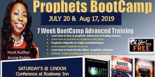 Free Prophet's Boot Camp & Training NC