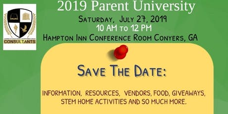Parent University: Engage in Helpful Tips for the 2019-2020 School Year tickets