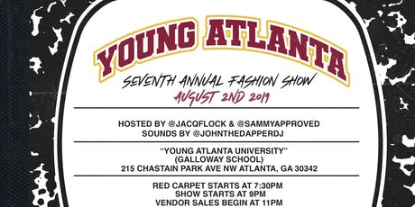 2019 Young Atlanta Fashion Show tickets