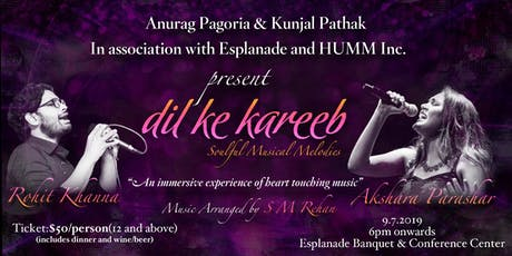 Dil Ke Kareeb - Soulful Musical Melodies tickets