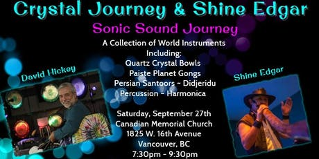 Crystal Journey/Shine Edgar In Vancouver, BC tickets
