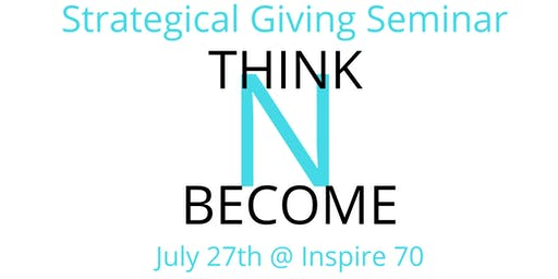 Strategical Giving Seminar