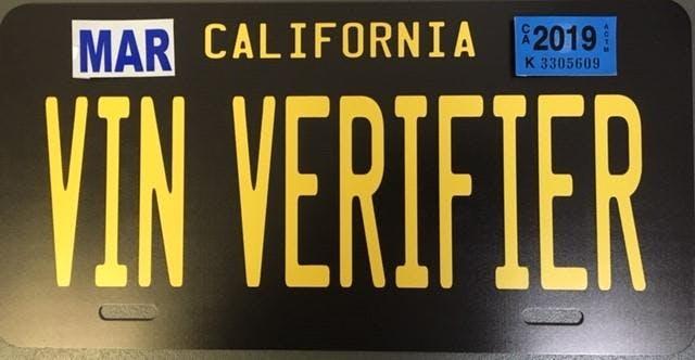 Mobile DMV VIN Verifier Training - TriStar Motors - Lakeside