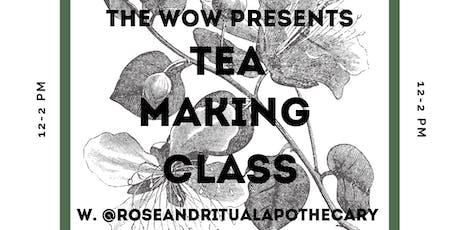 Tea Making Class tickets