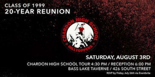 CHS Class of 1999 20 Year Reunion
