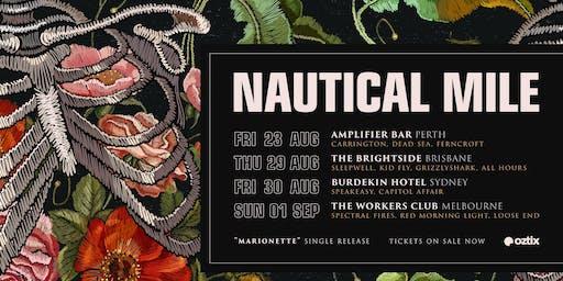 Nautical Mile - Marionette Tour SYDNEY